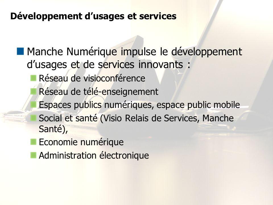 Développement d'usages et services