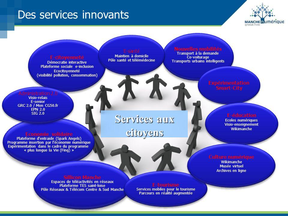 Des services innovants