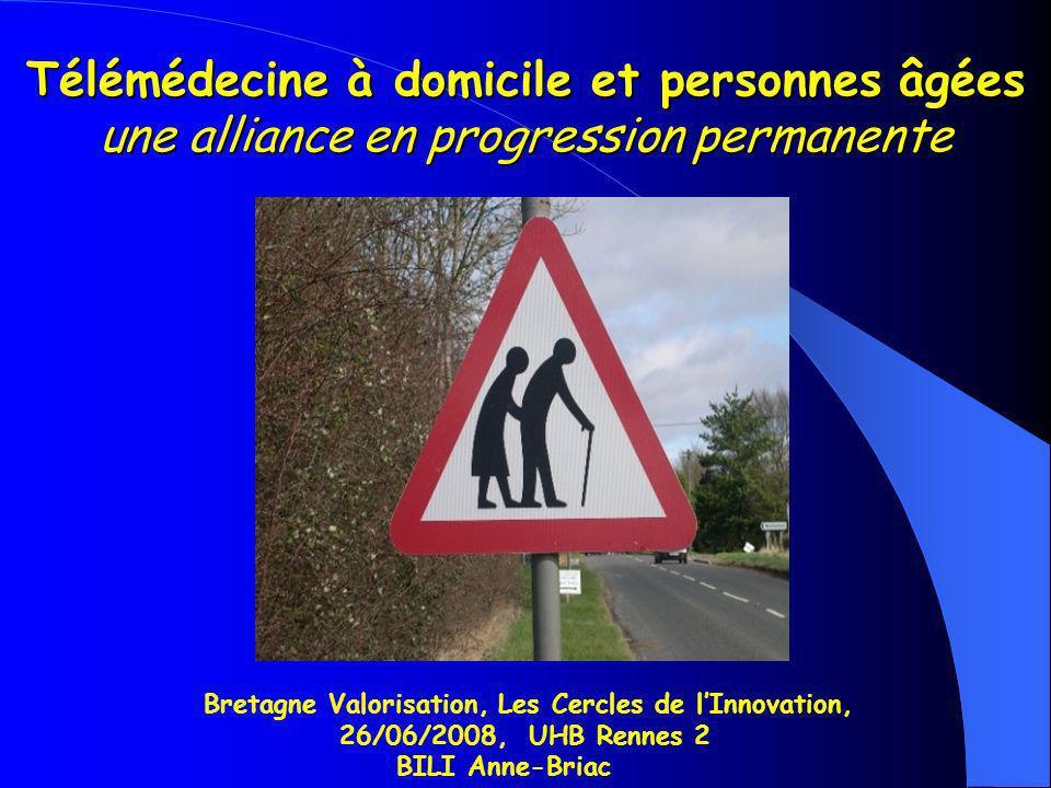 Télémédecine à domicile et personnes âgées une alliance en progression permanente