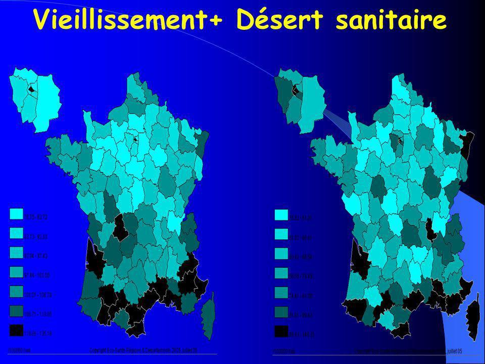 Vieillissement+ Désert sanitaire