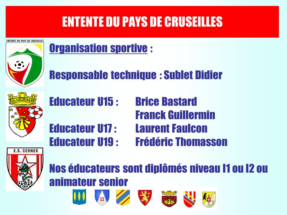 ENTENTE DU PAYS DE CRUSEILLES