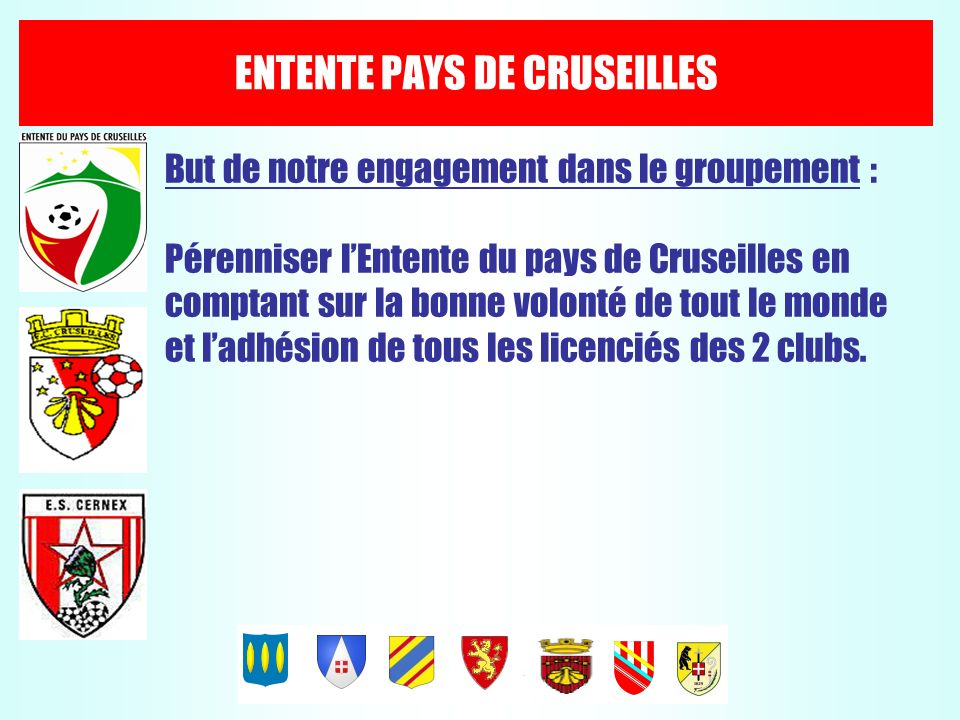 ENTENTE PAYS DE CRUSEILLES