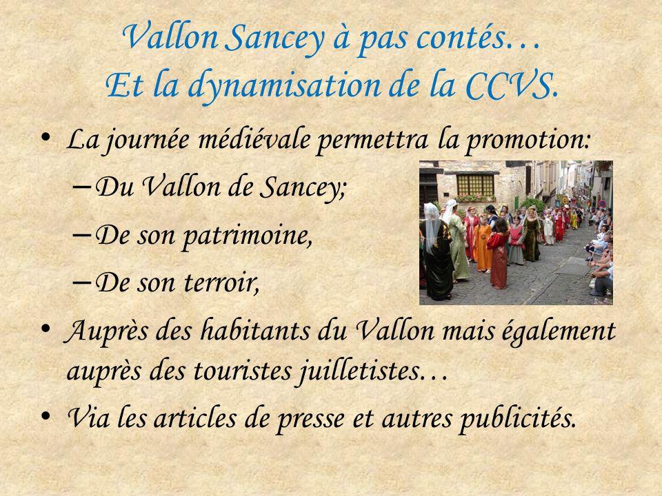 Vallon Sancey à pas contés… Et la dynamisation de la CCVS.