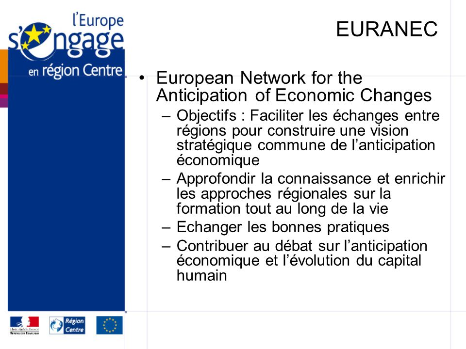 EURANEC European Network for the Anticipation of Economic Changes