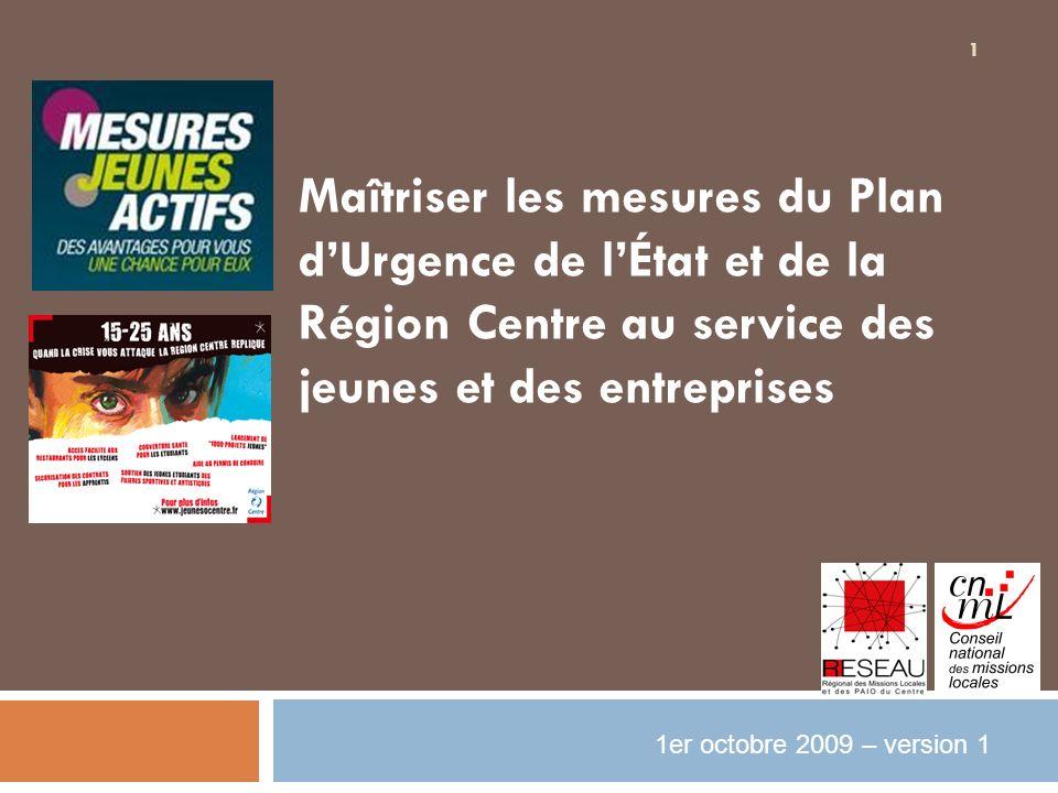Maîtriser les mesures du Plan d'Urgence de l'État et de la Région Centre au service des jeunes et des entreprises