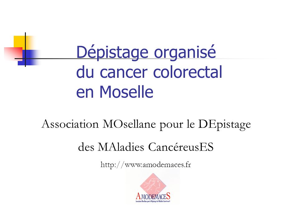 Dépistage organisé du cancer colorectal en Moselle