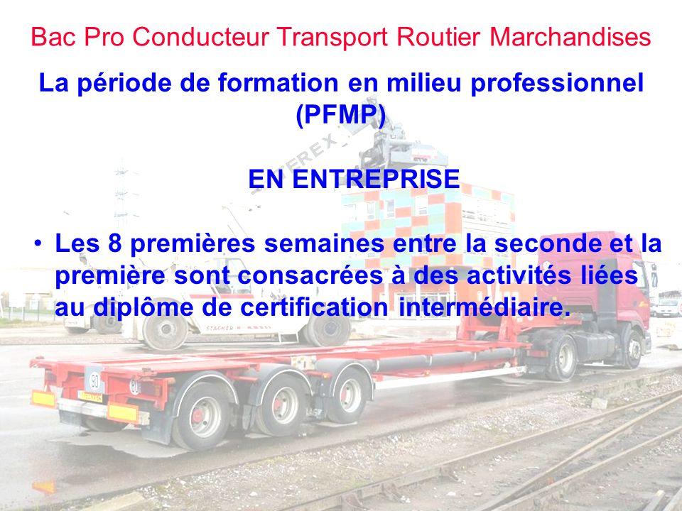 La période de formation en milieu professionnel (PFMP)