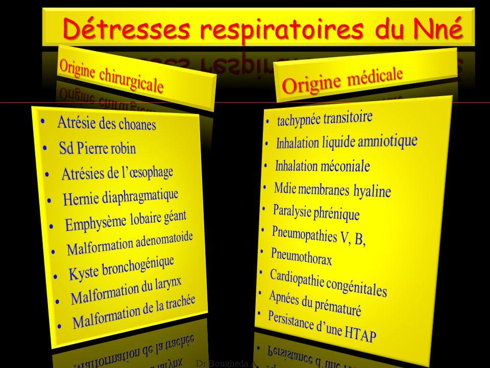 Détresses respiratoires du Nné