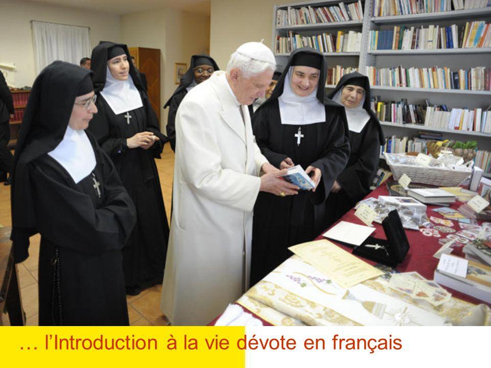 … l'Introduction à la vie dévote en français