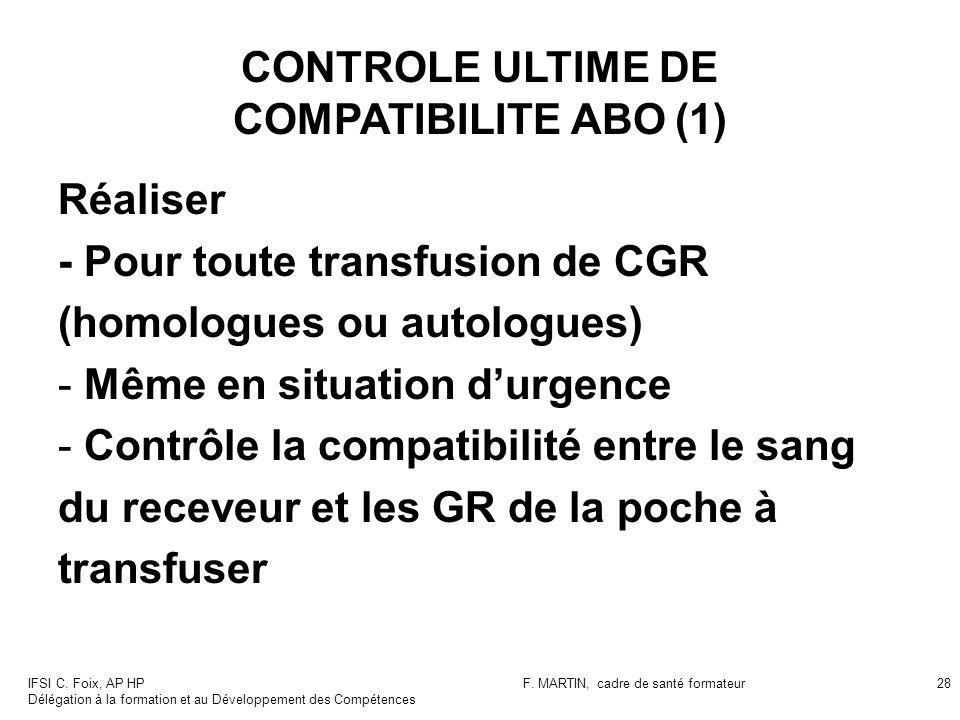 CONTROLE ULTIME DE COMPATIBILITE ABO (1)