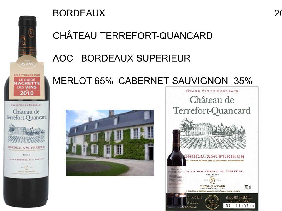 BORDEAUX 2004 CHÂTEAU TERREFORT-QUANCARD RAYMOND.