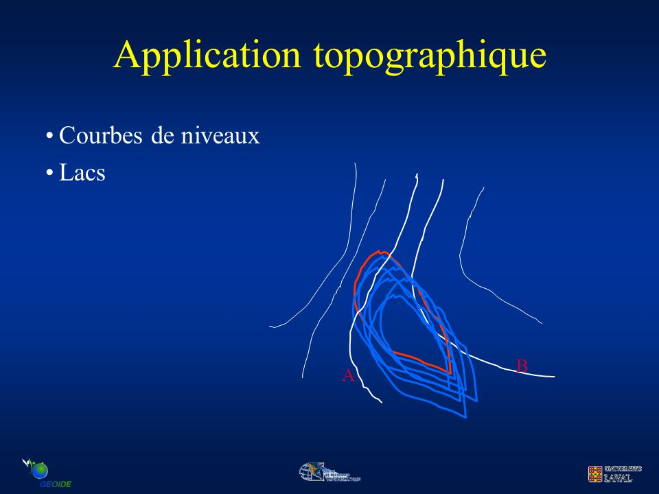 Application topographique