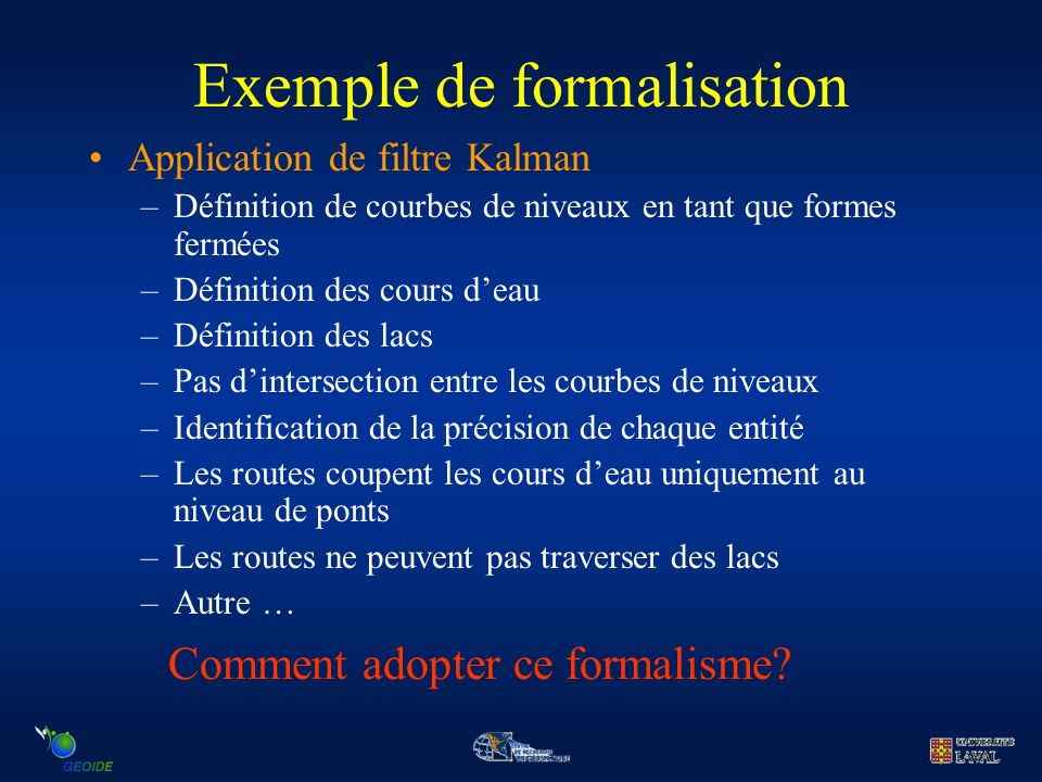Exemple de formalisation