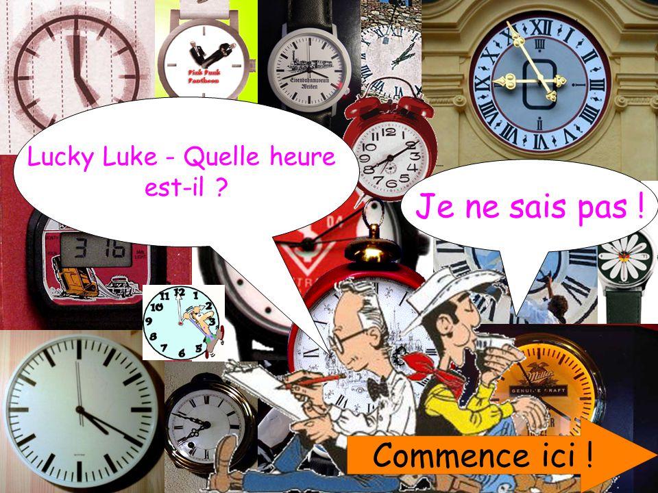 Lucky Luke - Quelle heure