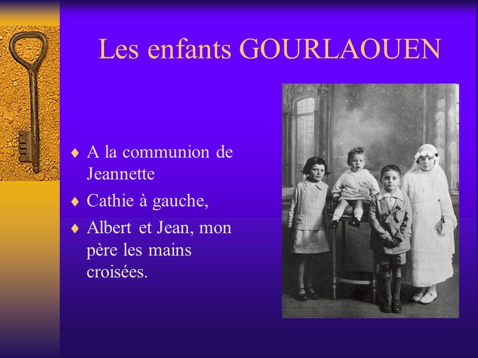 Les enfants GOURLAOUEN