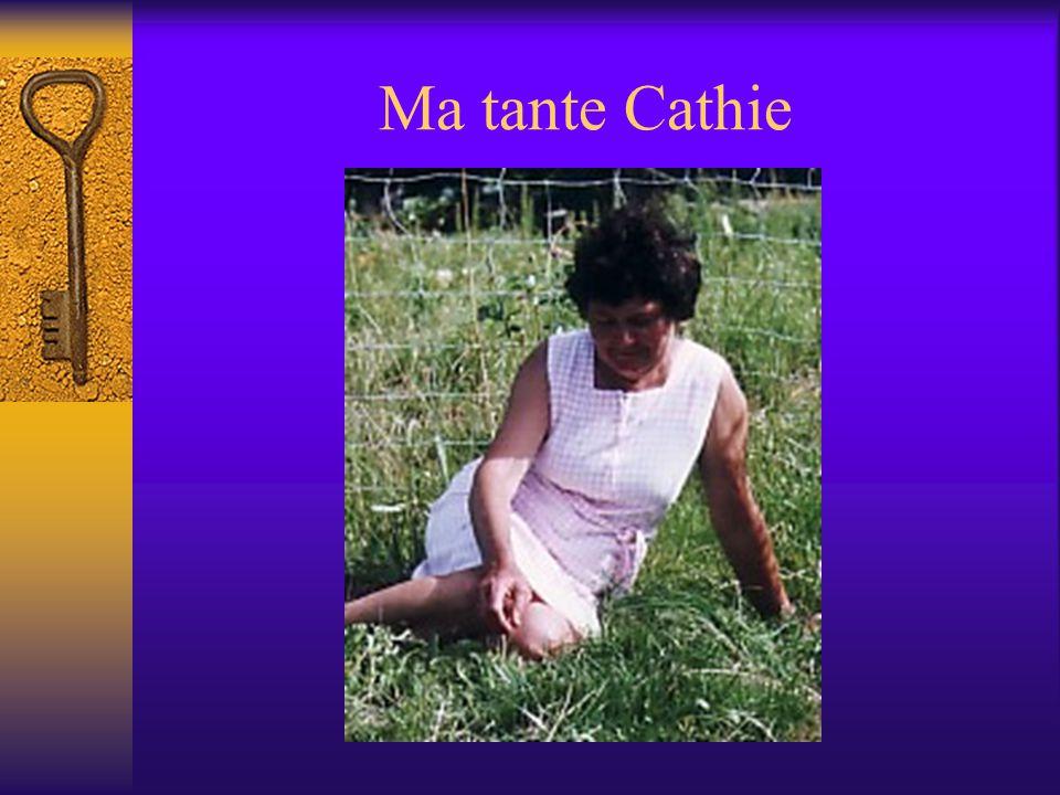 Ma tante Cathie