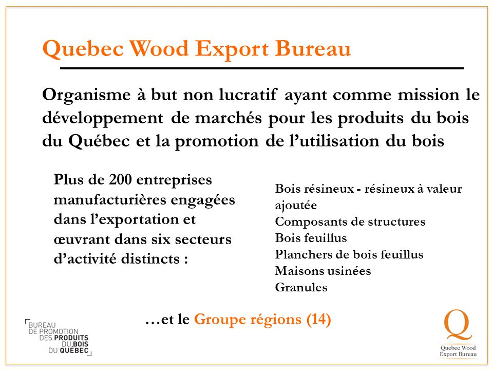 Quebec Wood Export Bureau