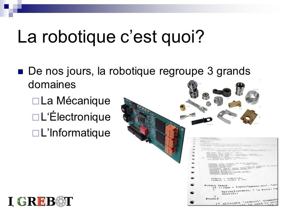 La robotique c'est quoi