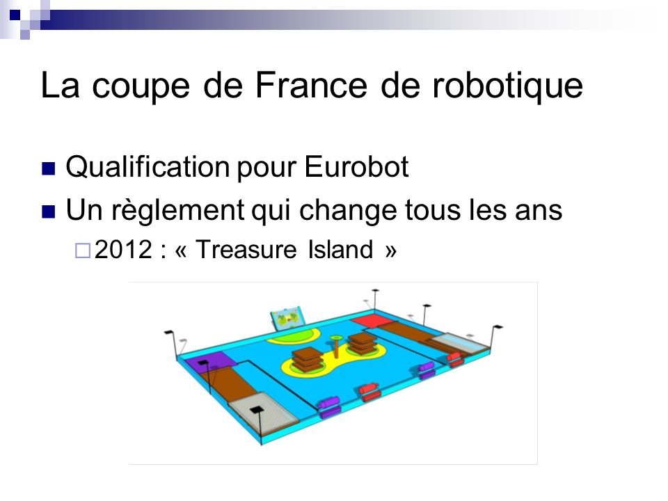 La coupe de France de robotique