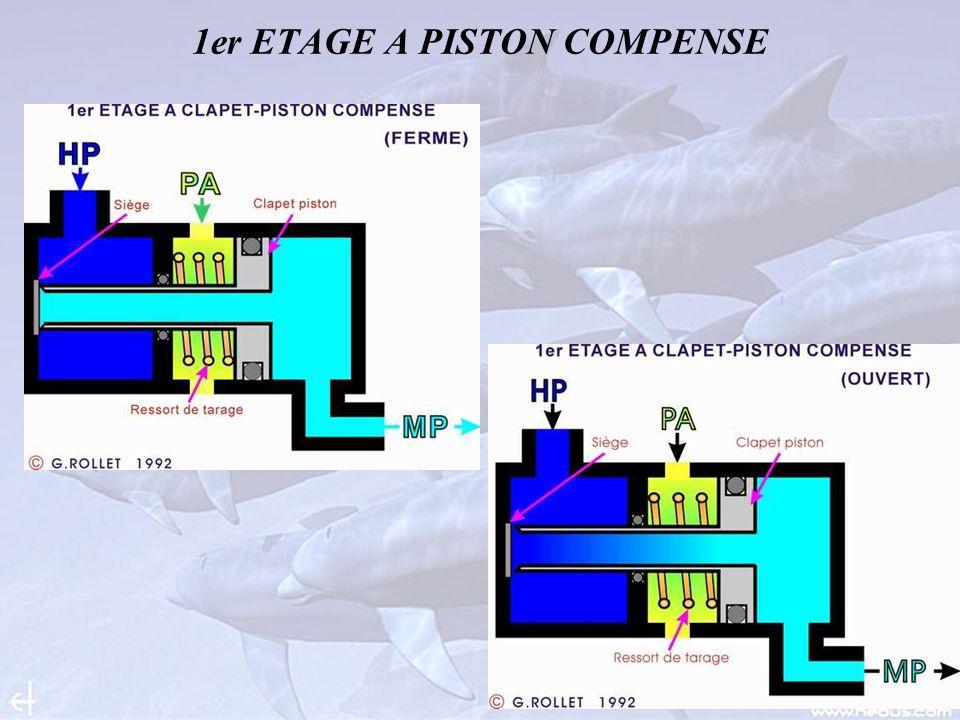 1er ETAGE A PISTON COMPENSE