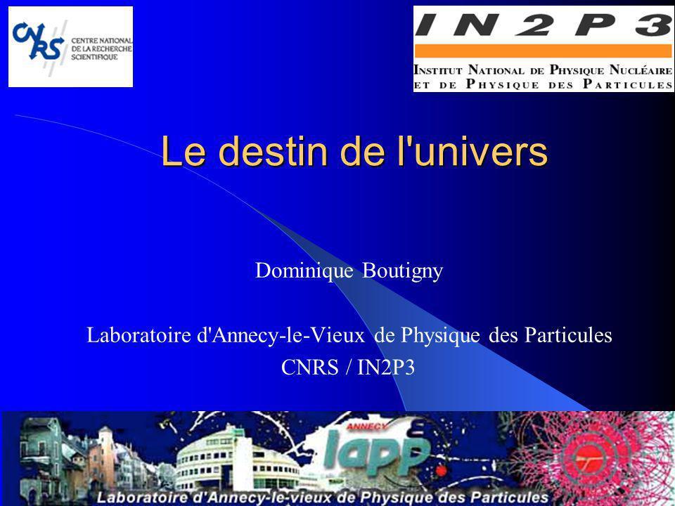 Laboratoire d Annecy-le-Vieux de Physique des Particules