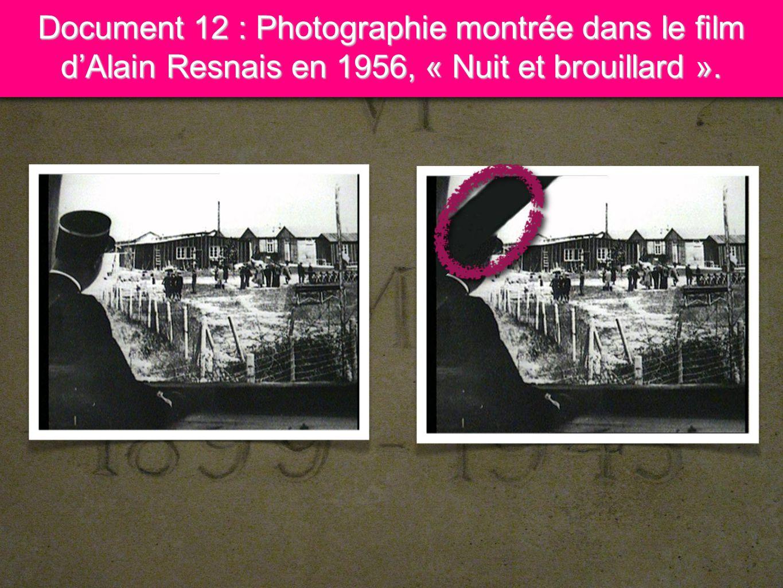 Document 12 : Photographie montrée dans le film d'Alain Resnais en 1956, « Nuit et brouillard ».