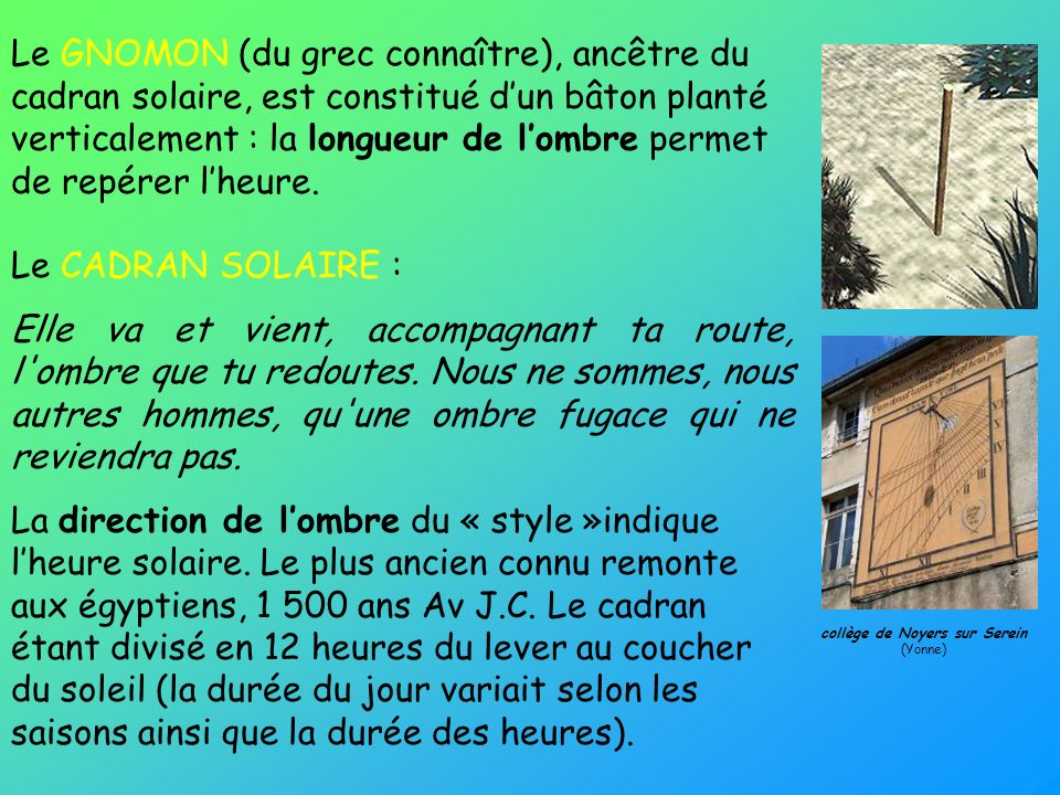 collège de Noyers sur Serein (Yonne)