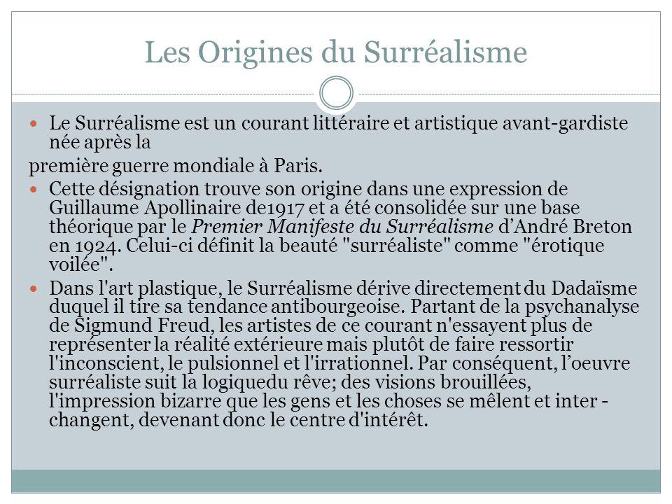 Les Origines du Surréalisme