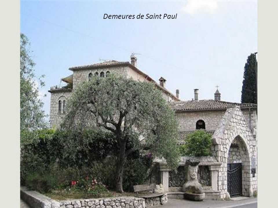 Demeures de Saint Paul