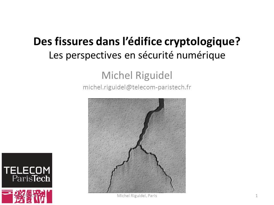 Michel Riguidel michel.riguidel@telecom-paristech.fr