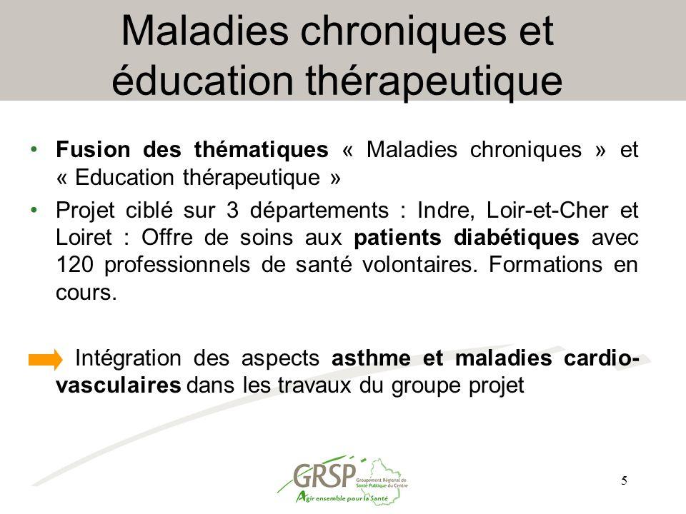 Maladies chroniques et éducation thérapeutique