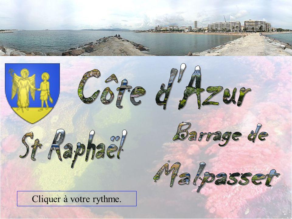 Côte d Azur Barrage de St Raphaël Malpasset