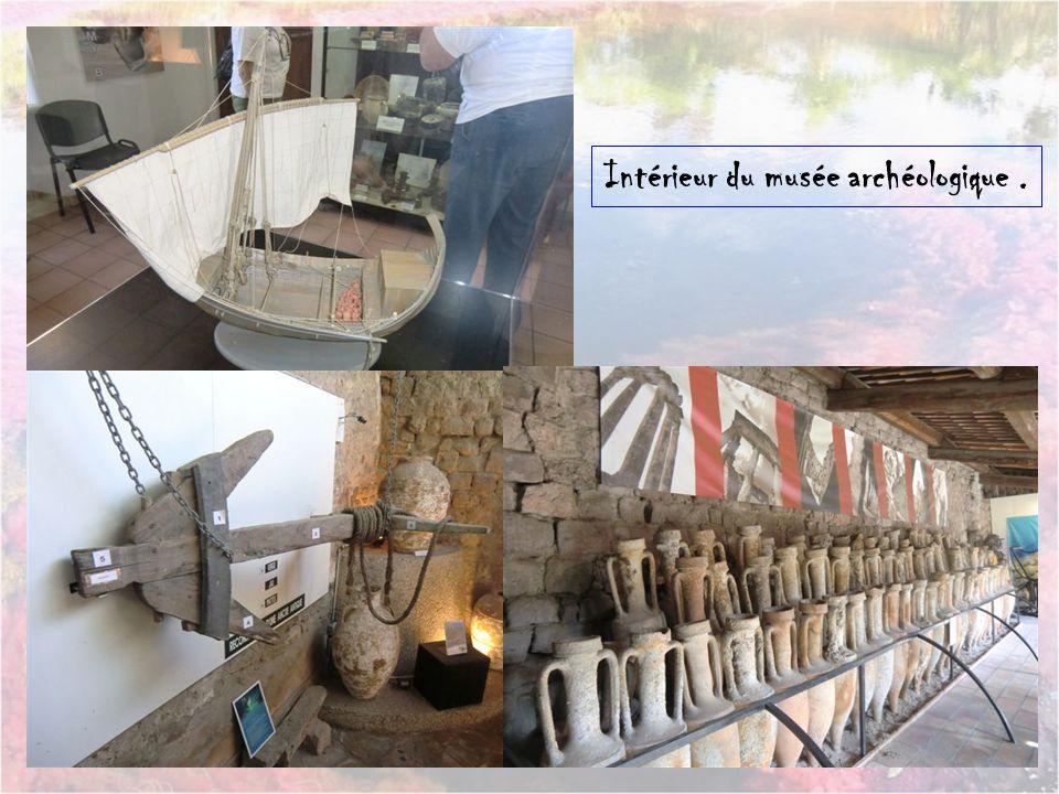Intérieur du musée archéologique .