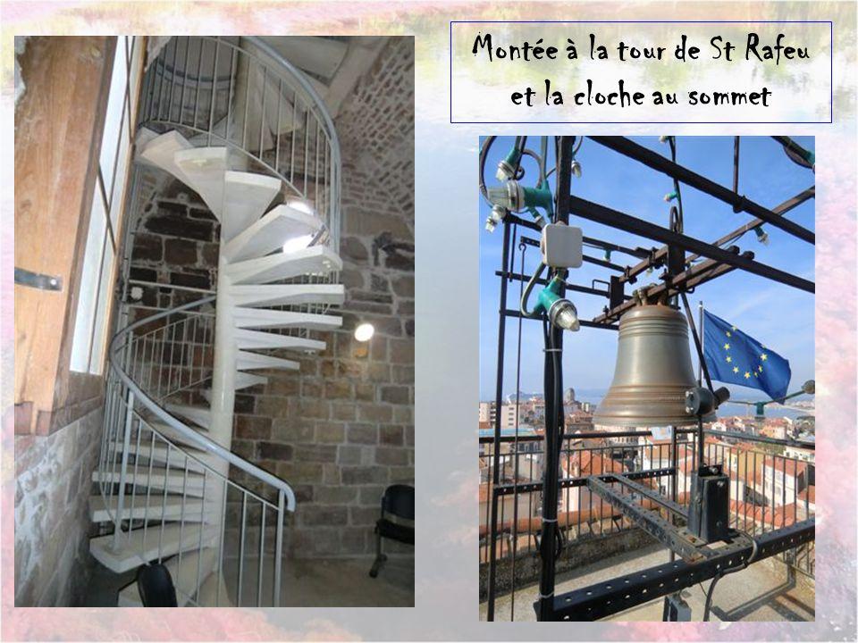 Montée à la tour de St Rafeu