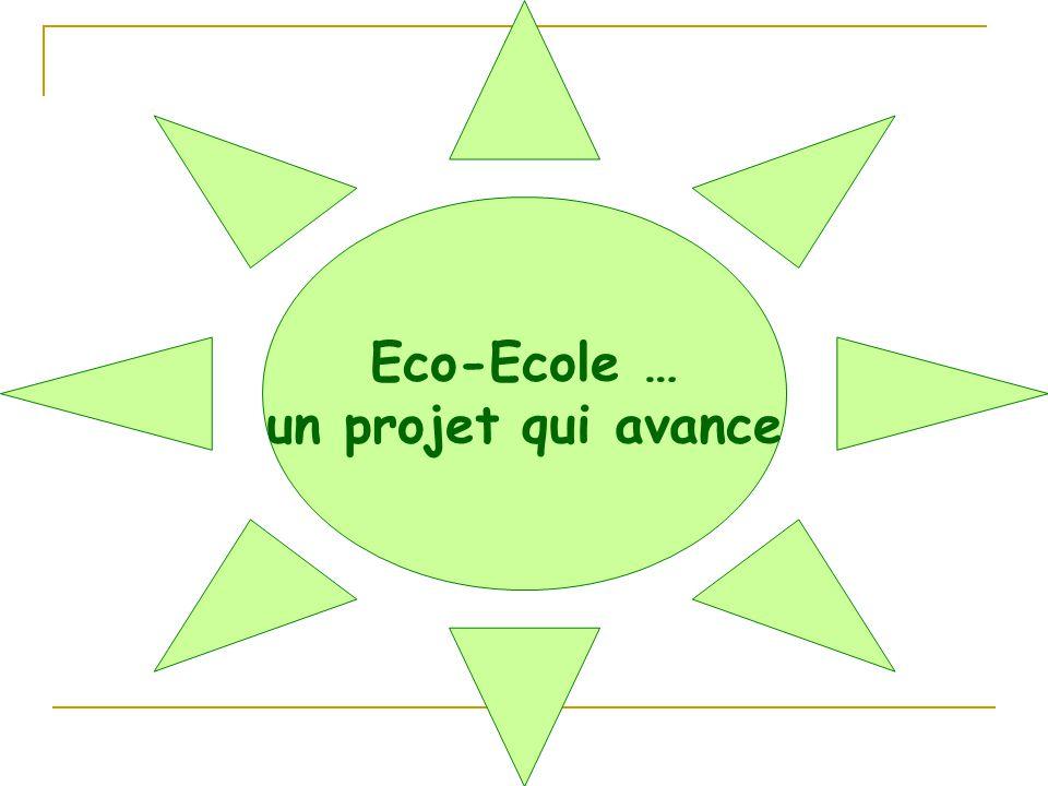 Eco-Ecole … un projet qui avance