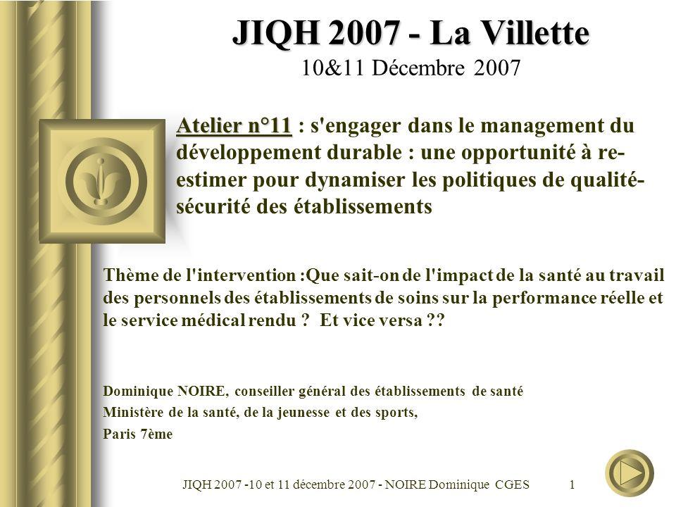 JIQH 2007 - La Villette 10&11 Décembre 2007
