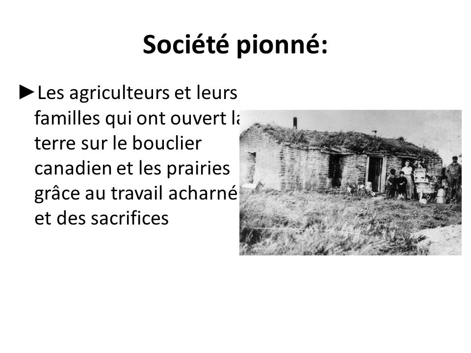 Société pionné: