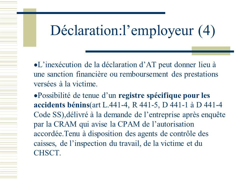 Déclaration:l'employeur (4)