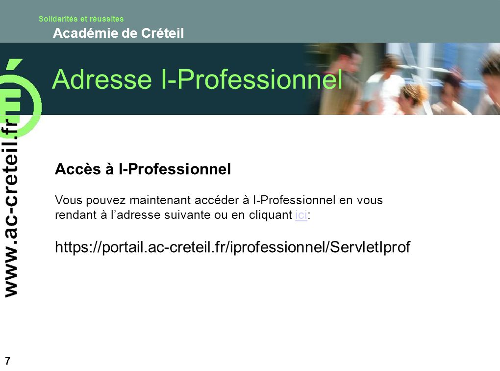Adresse I-Professionnel