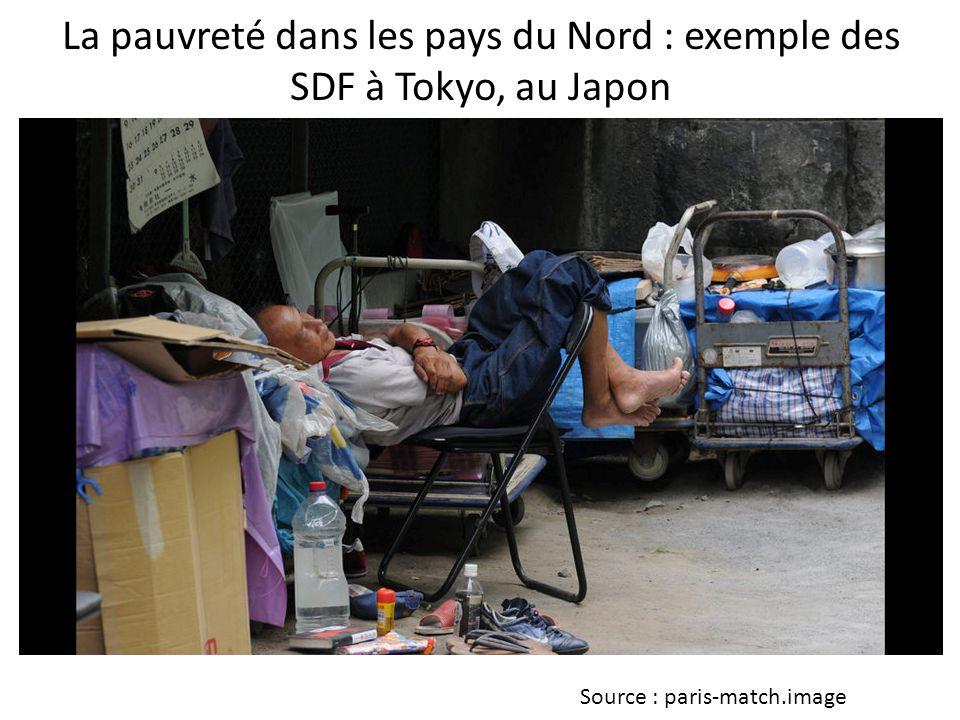 La pauvreté dans les pays du Nord : exemple des SDF à Tokyo, au Japon