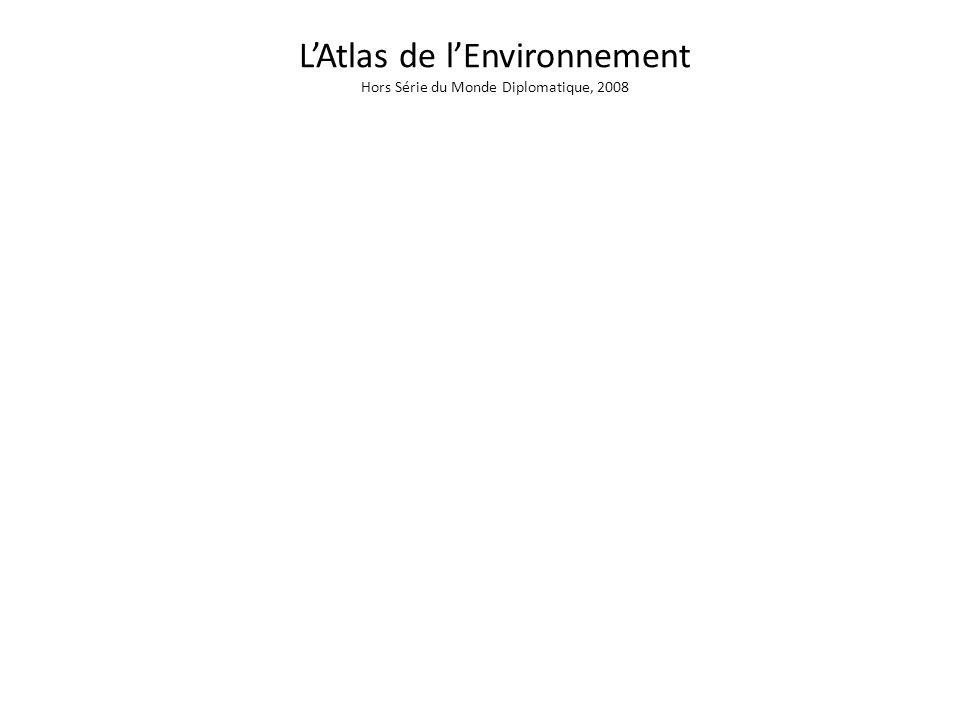 L'Atlas de l'Environnement