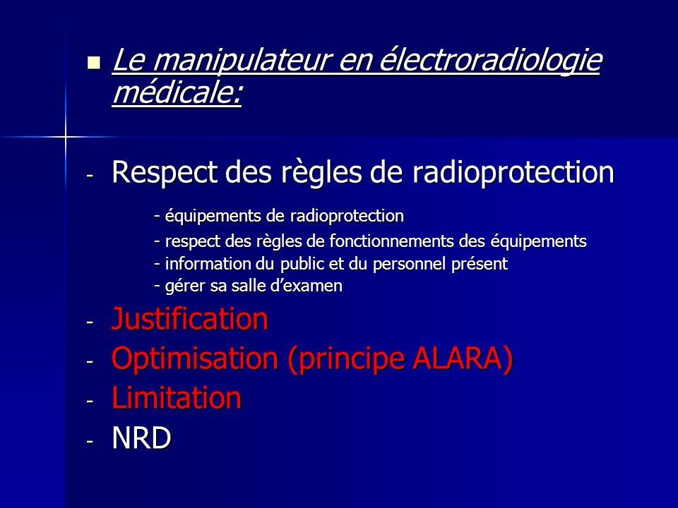 Le manipulateur en électroradiologie médicale: