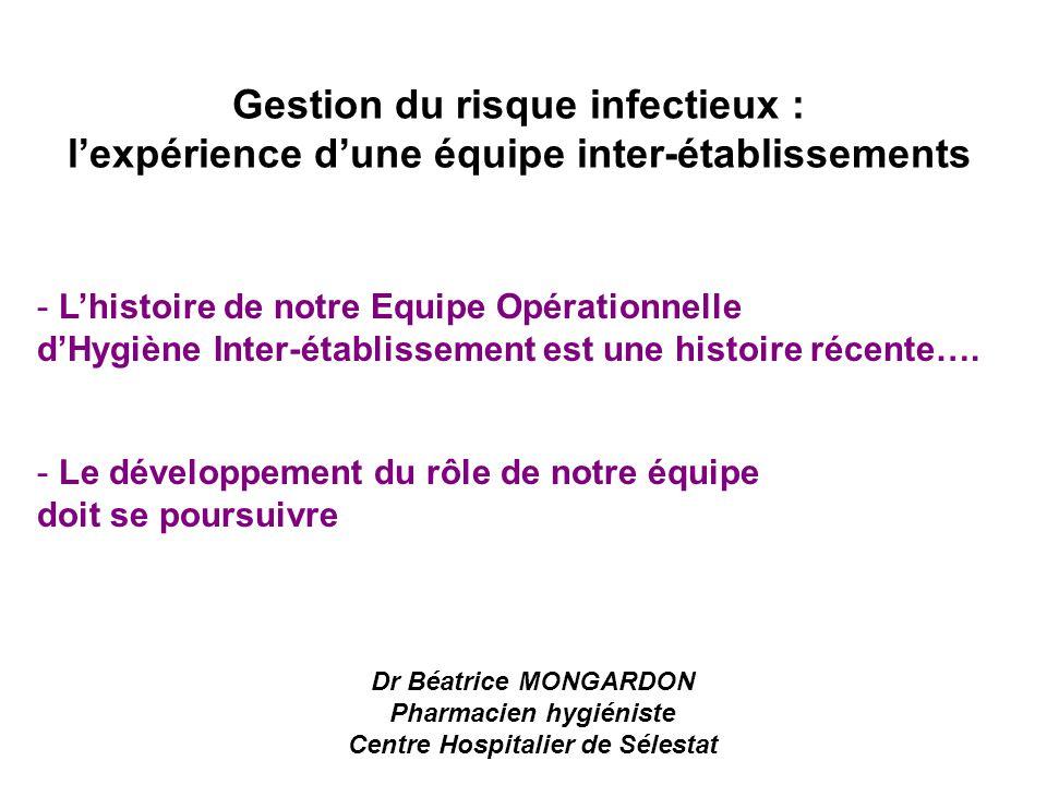 Pharmacien hygiéniste Centre Hospitalier de Sélestat