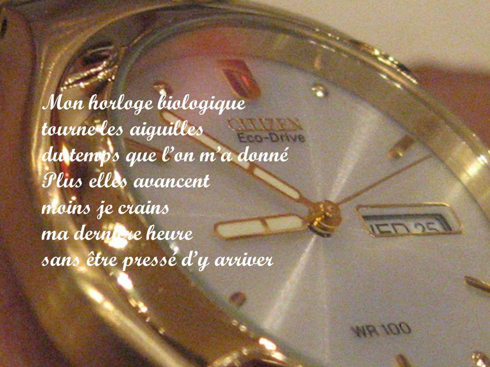 Mon horloge biologique