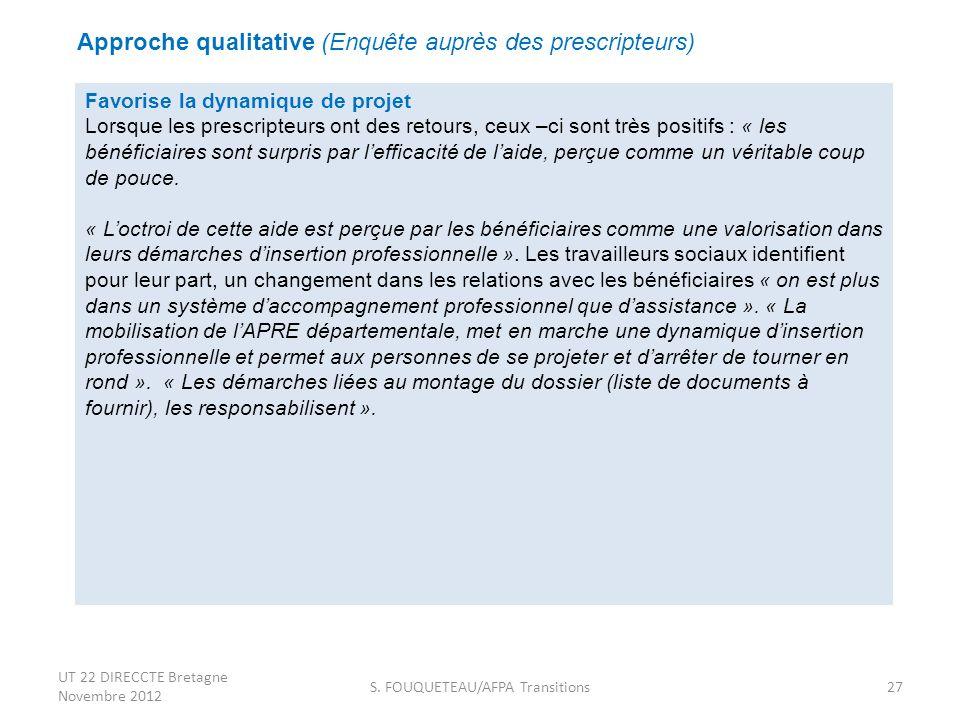 S. FOUQUETEAU/AFPA Transitions