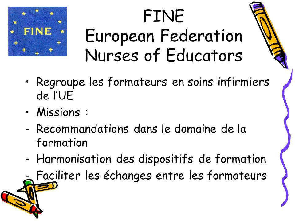 FINE European Federation Nurses of Educators