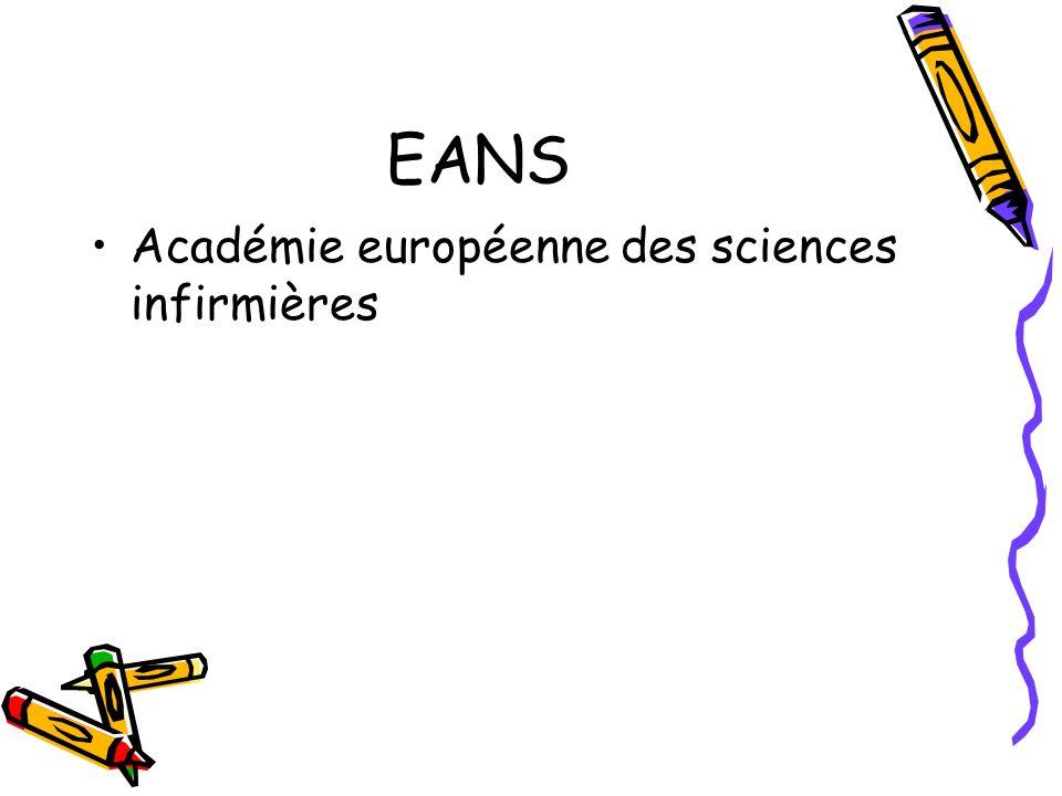 EANS Académie européenne des sciences infirmières