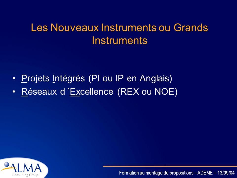 Les Nouveaux Instruments ou Grands Instruments