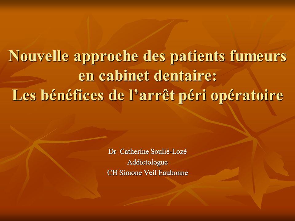 Dr Catherine Soulié-Lozé Addictologue CH Simone Veil Eaubonne