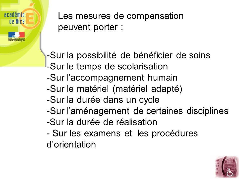 Les mesures de compensation